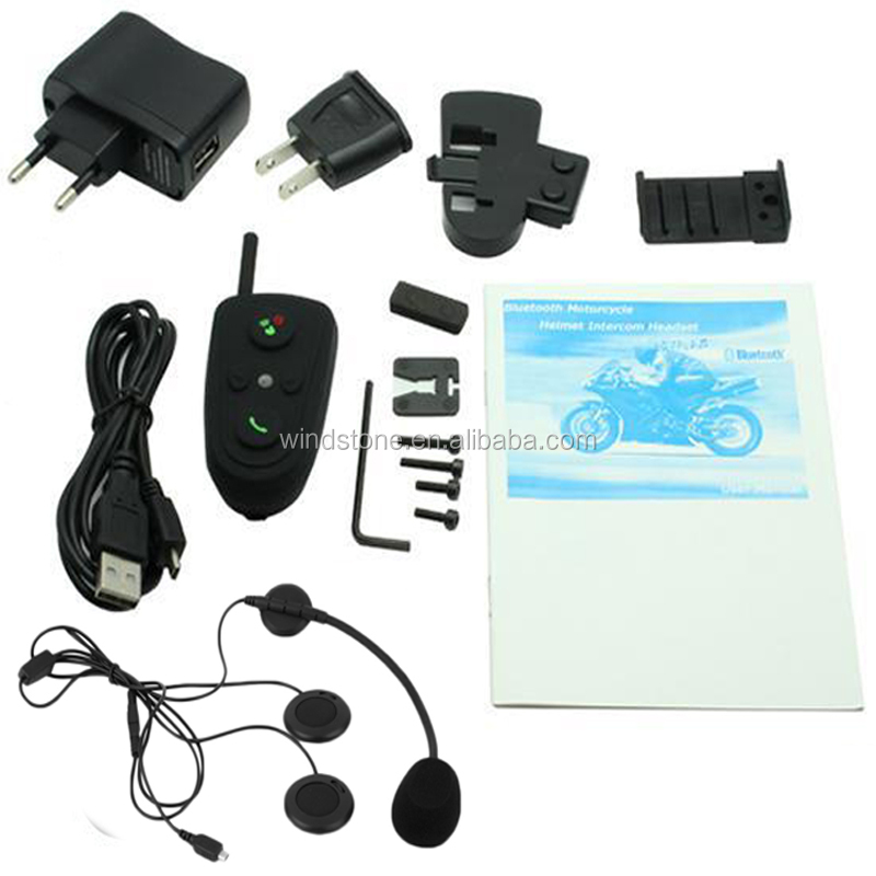 200cc Motorcycles Helmet Bluetooth Earpiece Bluetooth Handsfree Headset Easy Use