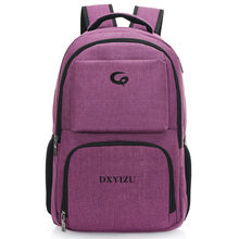 Personalized Design Transparent Trolley Hemp Backpack