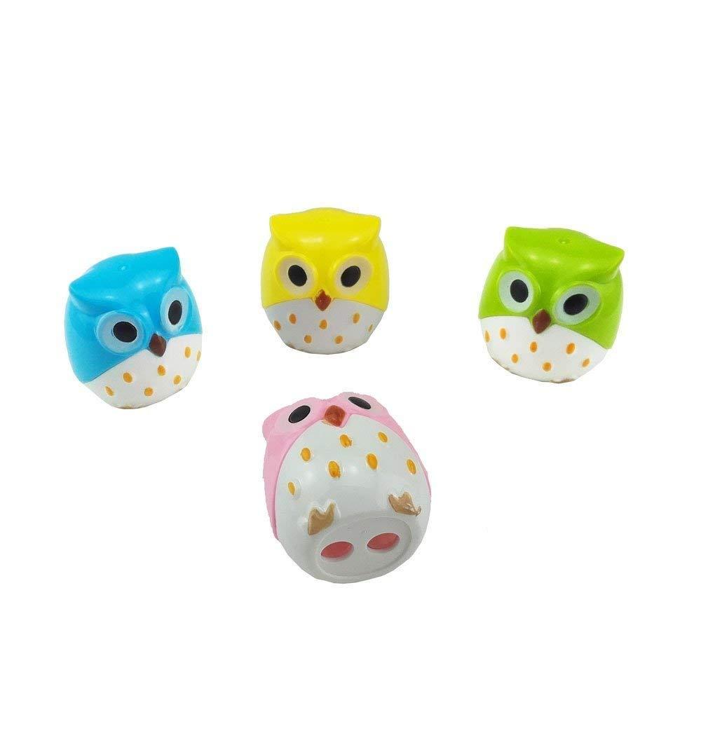 1pc Mini Cute Lovely Owl Pattern Pencil Sharpener School Student Stationery Supplies Random Color
