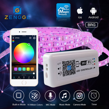 neue erfindungen 2018 kostenlose app wifi rf rgb led musik controller f r led streifen. Black Bedroom Furniture Sets. Home Design Ideas