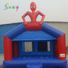 सनवे inflatable <span class=keywords><strong>स्पाइडरमैन</strong></span> बाउंसर <span class=keywords><strong>खेल</strong></span> गर्म बिक्री