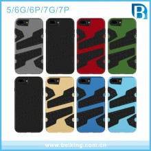 Hot Product Net Pattern Hybrid Armor Phone Case for iPhone 7 7plus