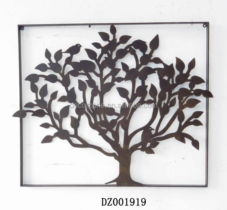 antique chinese decorative tree metal wall plaque buy wall plaque tree metal wall plaque. Black Bedroom Furniture Sets. Home Design Ideas