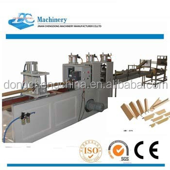 paper edge corner protector making machine for V and U profiles