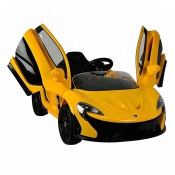 mclaren p1 kids ride on toy electric kinderauto-fernbedienung orange