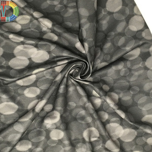 Hot selling plain cloth 100 polyester knitted fabric pot designs printed fabric