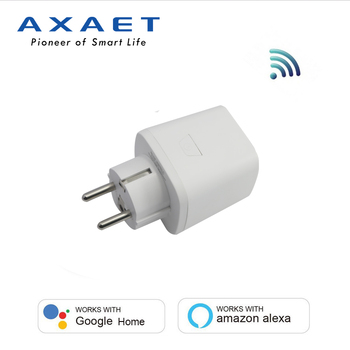 Wi-Fi Smart Plug, Mini Outlets Smart Socket Timing Function Smart Home Products with Alexa Google Assistant