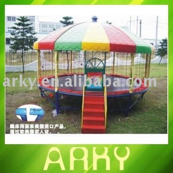 Outdoor 14FT Round Tr&oline Tent : trampoline tents 14ft - memphite.com