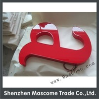 lighting led sign for display use in airport and post office