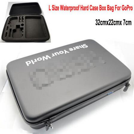 Portable EVA Waterproof Camera Hard Case Box Bag For GoPro Hero 4 3+ 3 2 Large