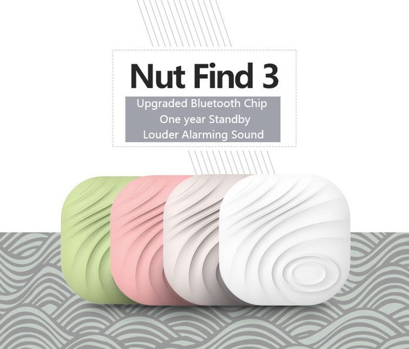Smart Nut 3 Finder Wireless Bluetooth Activity Tracker Anti-Lost Key Aralm Tag for Smart Phone Pet Bag Wallet with Retail Box