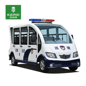 Community Campus Using Enclose 48V 4KW Electric Patrol Car