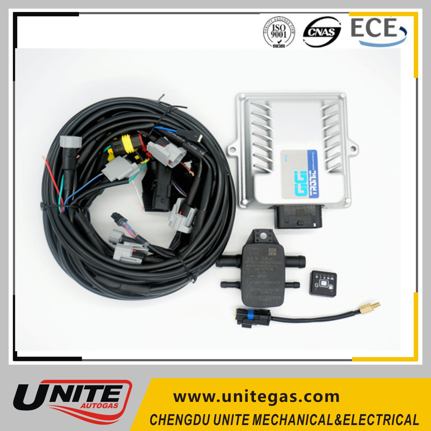 cng and lpg conversion kits ECU for cars