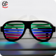 China Supplier Birthday Items CE Certification Color Changing Wholesale Led Glasses Sound Activated