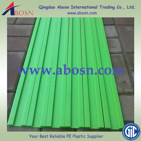 waterproof plastic Anti static UHMWPE chain guide strip