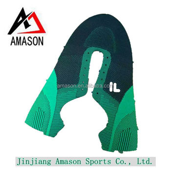Latest Design Sport Running Shoes Upper High Quality Flyknit Material
