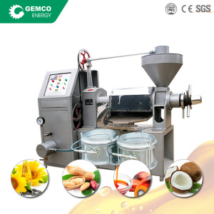 BEST mini oil press small oil mill uses vegetable olive coconut palm kernel groundnut sunflower oil milling machine