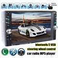 6 6 inch HD 2 Din MP5 MP4 Player Touch screen Car FM Radio stereo Bluetooth