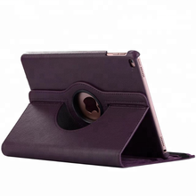 Flip leather for ipad smart cover 360 degree rotate