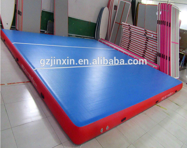 3m x2m Big Purple Inflatable Prix Used Square Air Track Gym Training Mat Australia Gymnastics Tumbling Usato For Sale
