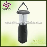 Solar dynamo LED camping lantern