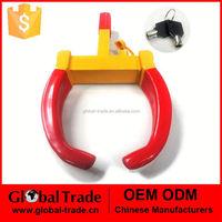 Claw style security wheel clamp lock padlock car van caravan or boat trailer A1971