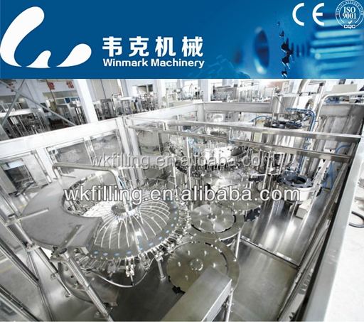 Paper,Metal,Wood,Plastic,Glass Packaging Material and New Condition pet bottle water filling machine production