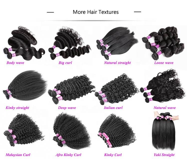 Groothandel menselijk haar weave ruwe cuticula uitgelijnd virgin hair