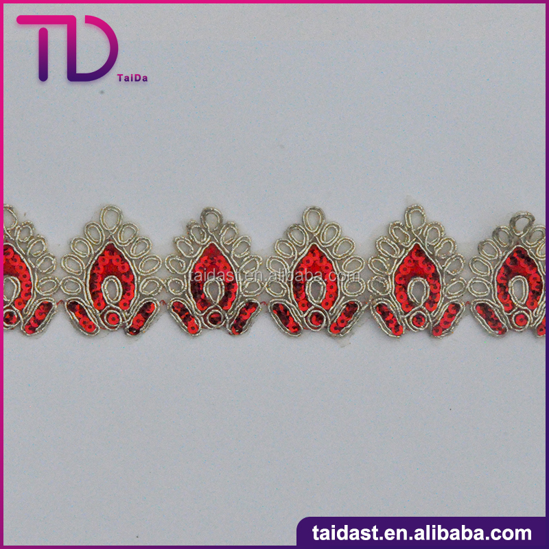 New Reasonable Price Embroidery Lace Trim For Decoration
