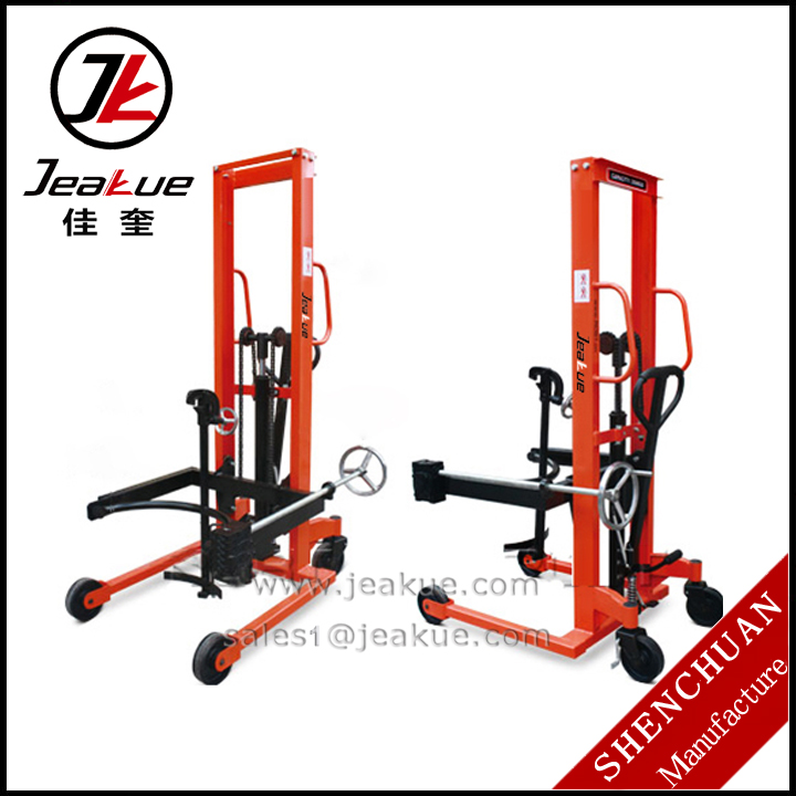 2016 Newest Capacity 350kg Tilting Hand Oil Drum Pallet Truck