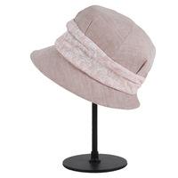Wholesale ladies women fancy good design white sinamay church hat