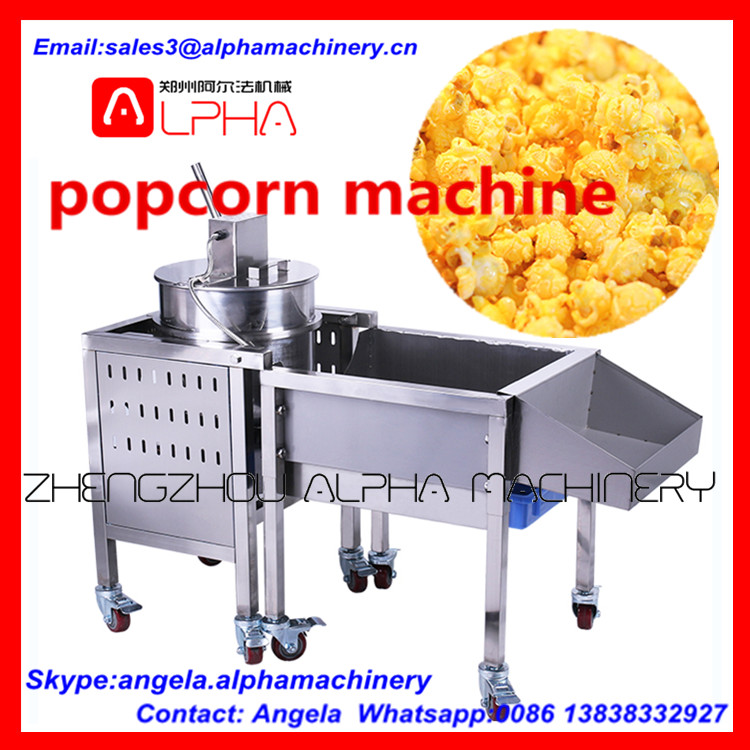 Industrial Hot Air Popcorn Machine/ Popcorn Caramel/silicone ...