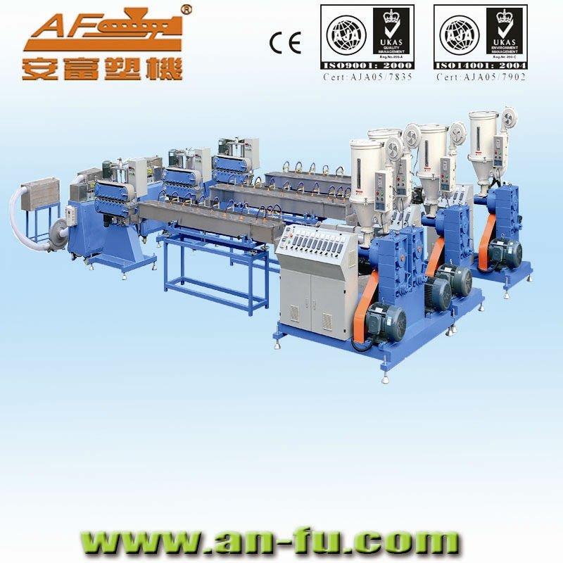 TPU, TPR Rubber Band Elastic Making Machine