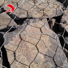 PVC coated hexagonal gabion box hot dipped galvanized stone cage gabion wall cost of gabion baskets