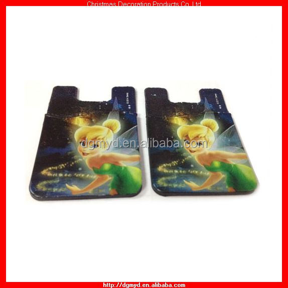 Tinker Bell 3M silicone card holders 2014 (KMS-1724)