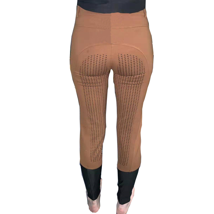 Custom design private logo <strong>Horse</strong> Riding leggings full seat anti slip gripper silicone printing equestrian pants