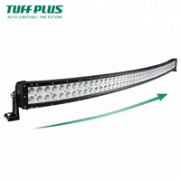 Cheap Off road Car ATV Tractor Duo Rows Light bar 288W 50inch Curved LED Light Bar
