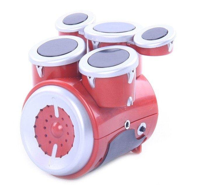 free shipping 1pc electric mini children drum machine drum music in toy musical instrument from. Black Bedroom Furniture Sets. Home Design Ideas