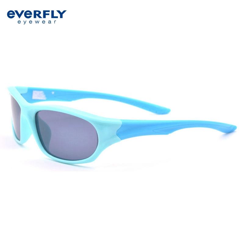 Cheap Hot Sale High Quality Blue Boys Tr90 Sports Sunglasses