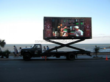 P10 P12 led mobile advertising vehicle screen and mobile led screen rental smd rgb virtual video led board stage p5 p6