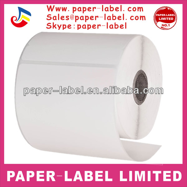CompuLabel Direct Thermal Labels, 4x6 Inch, White, Roll, Permanent Adhesive, Near IR scan able with 3/4-Inch tab for FedEx,245 p