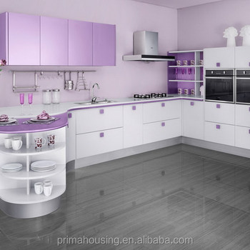 modern kitchen for 2015 acrylic finish used kitchen cabinet doors chinese modular kitchen cabiets - Violet Kitchen 2015