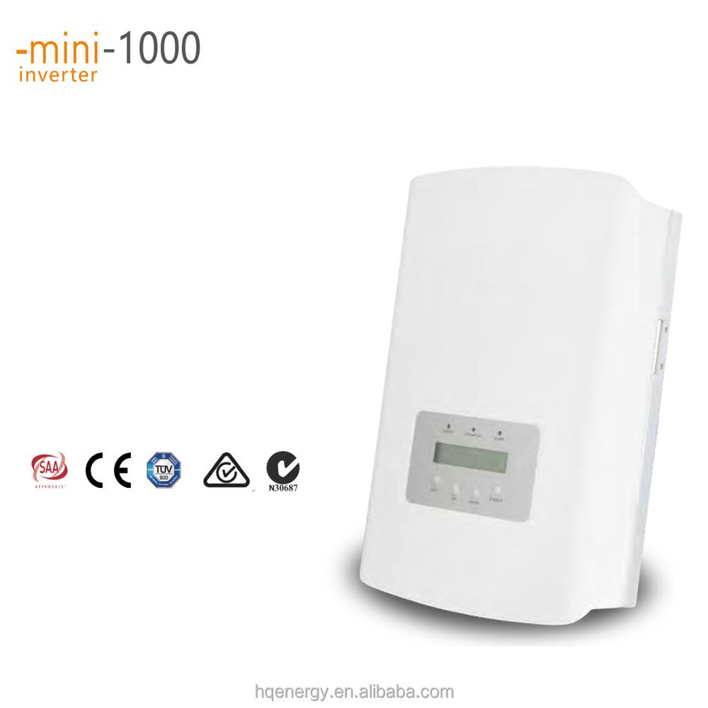 1000w Grid Tie Solar Inverter 1000va Sun Power Inverter High Transform  Efficiency For Home Use - Buy On Grid Inverter,Sunpower Inverter,High
