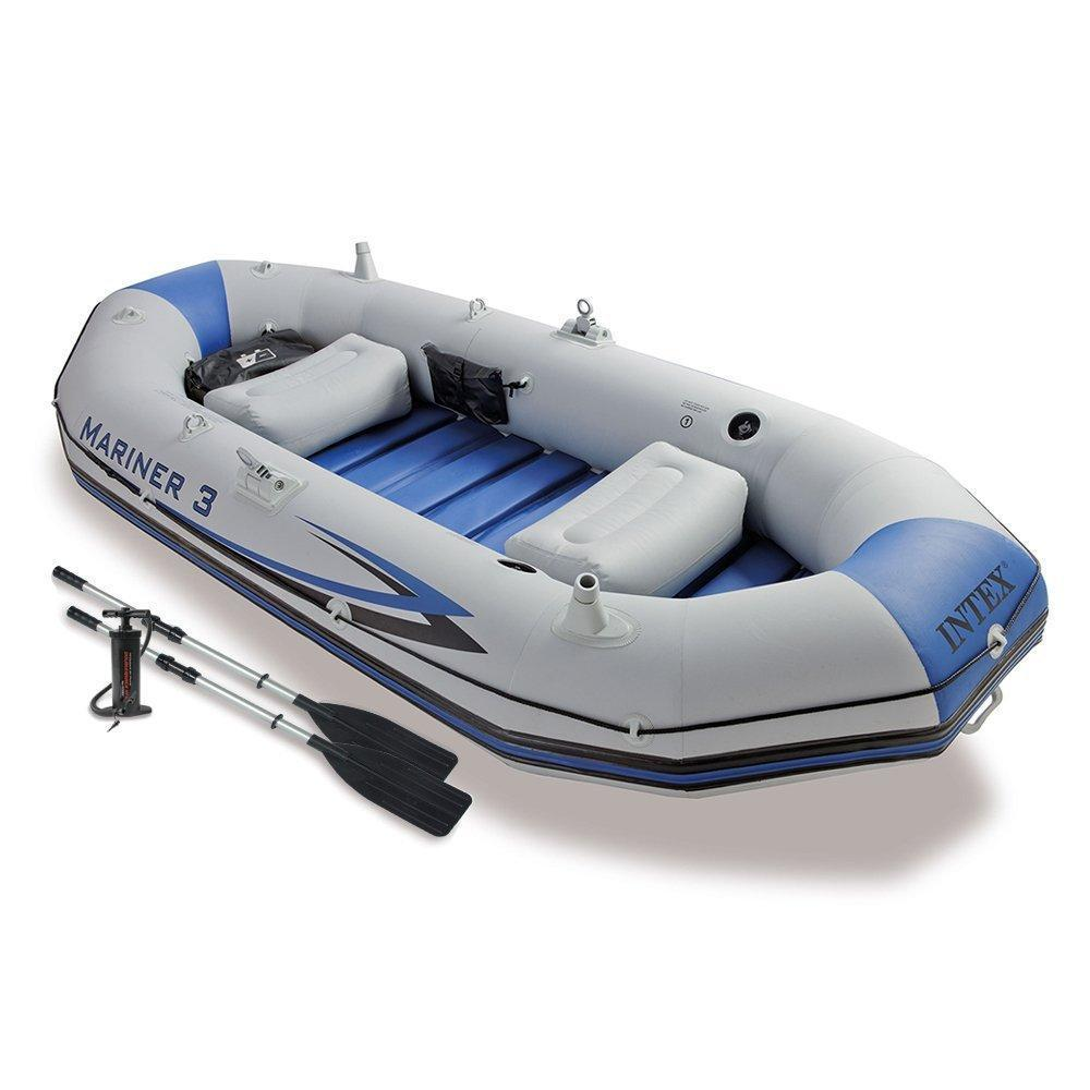 Intex 68373 Professional Series Mariner 3 Set Sailing Plastic <strong>Boat</strong>