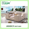 pu leather bed designs, modern divan bed frame sale, China foshan used bed frames