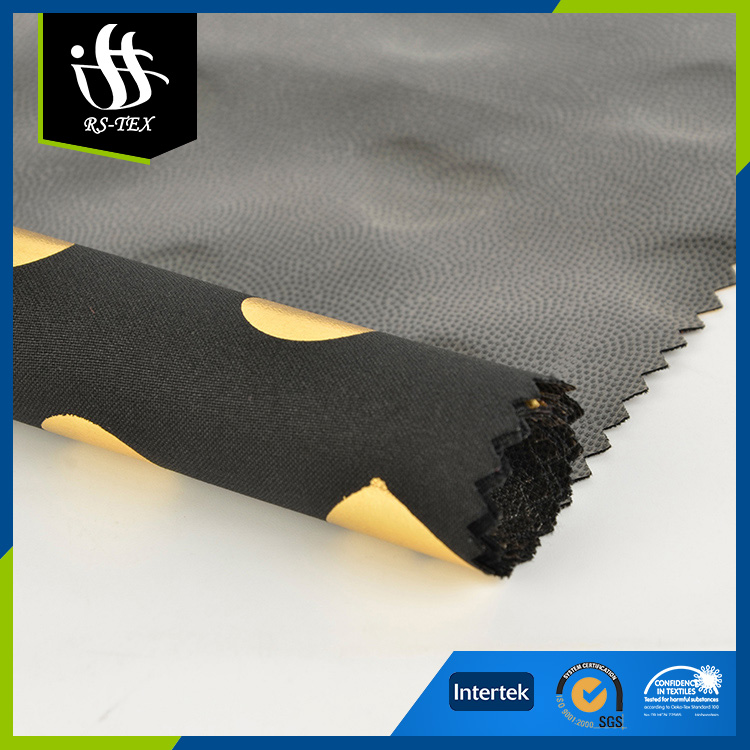 Latest design OEM accept comfortable tpu laminated fabric for garment