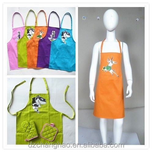 BSCI aprons kid's chef hat adult bibs