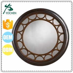 polyurethane mirror frame with Baroque