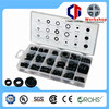 China Supplier TC-1011 Fastener Assorted 125pc Rubber Grommets Sets