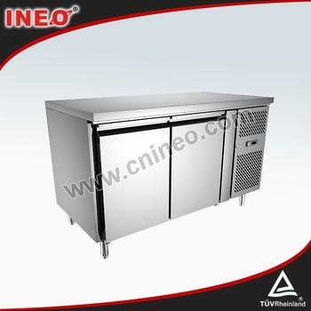 Commercial 2 Door Stainless Steel Desktop Mini Fridge/table Top Fridge